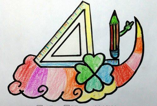 班徽节徽和班服设计大赛源自美术课本的标志设计内容,把它与学校活动
