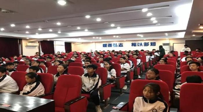 """广州市健康教育进校园活动之二 一些你需要知道的""""应急知识"""" ——广州市恒福中学学生应急知识讲座"""