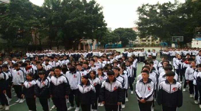 共担防艾责任,共享健康权利,共建健康中国,共建美好校园——广州市恒福中学艾滋病宣教简讯